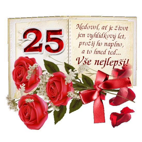 přání k narozeninám 25 let prani_k_25narozeninam přání k narozeninám 25 let